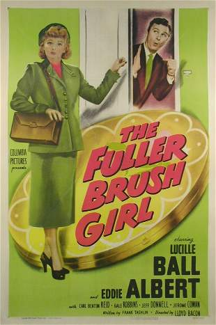 FULLER BRUSH GIRL, THE Lucille Ball, Eddie Albert
