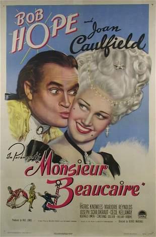 MONSIEUR BEAUCAIRE Bob Hope, Joan Caulfield
