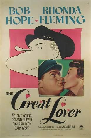 GREAT LOVER, THE Bob Hope, Rhonda Fleming