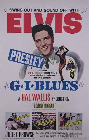 G.I. BLUES Elvis Presley