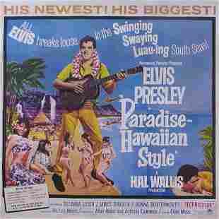 PARADISE, HAWAIIAN STYLE Elvis Presley