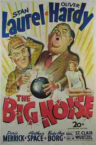 BIG NOISE, THE Laurel and Hardy