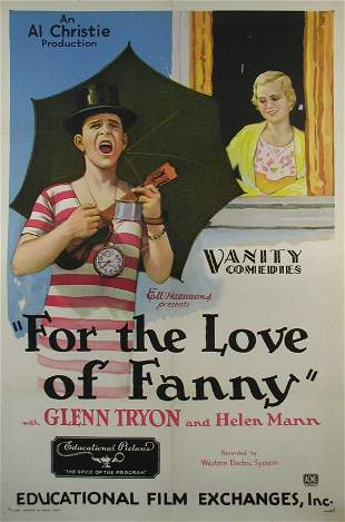 FOR THE LOVE OF FANNY Glenn Tryon