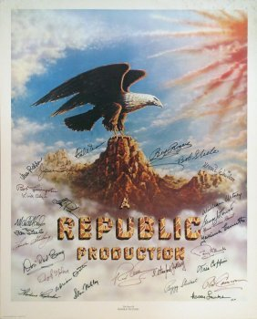003: REPUBLIC AUTOGRAPHS Roy Rogers Alyn Steele, more