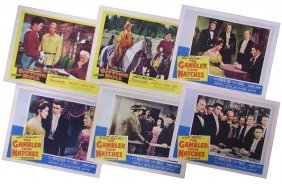 DALE ROBERTSON AUTOGRAPHED LOBBY CARDS