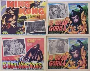 009: KING KONG MEXICAN LCs Fay Wray, Robert Armstrong