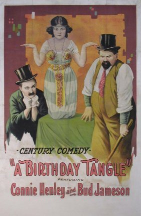 020: BIRTHDAY TANGLE, A Connie Henley