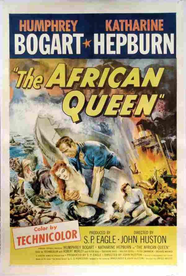 AFRICAN QUEEN Humphrey Bogart