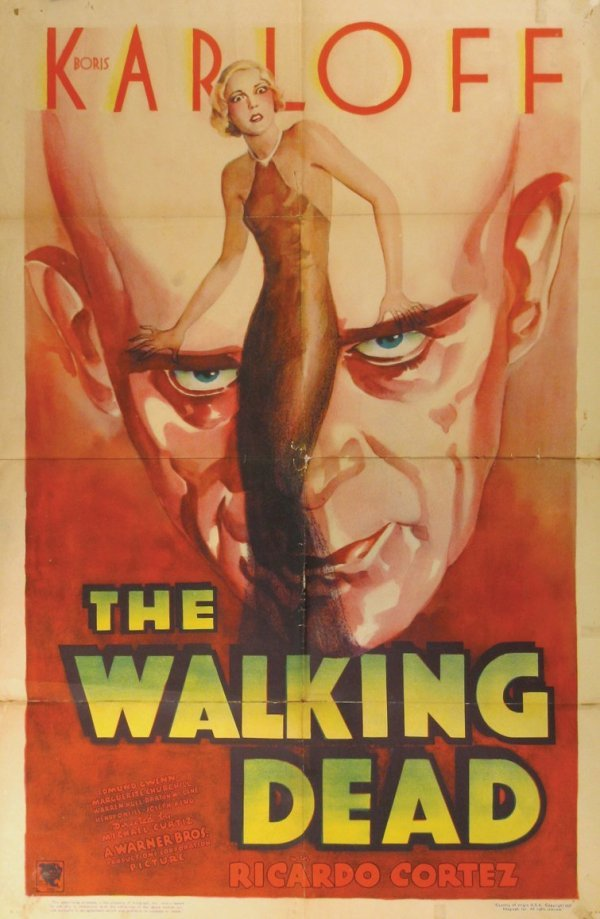 676: WALKING DEAD, THE Boris Karloff