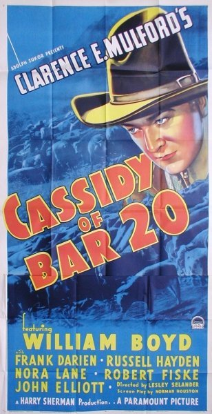 18: CASSIDY OF THE BAR 20
