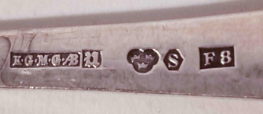 Lot of 4 Vintage Sterling Silver Sugar Spoons - 3