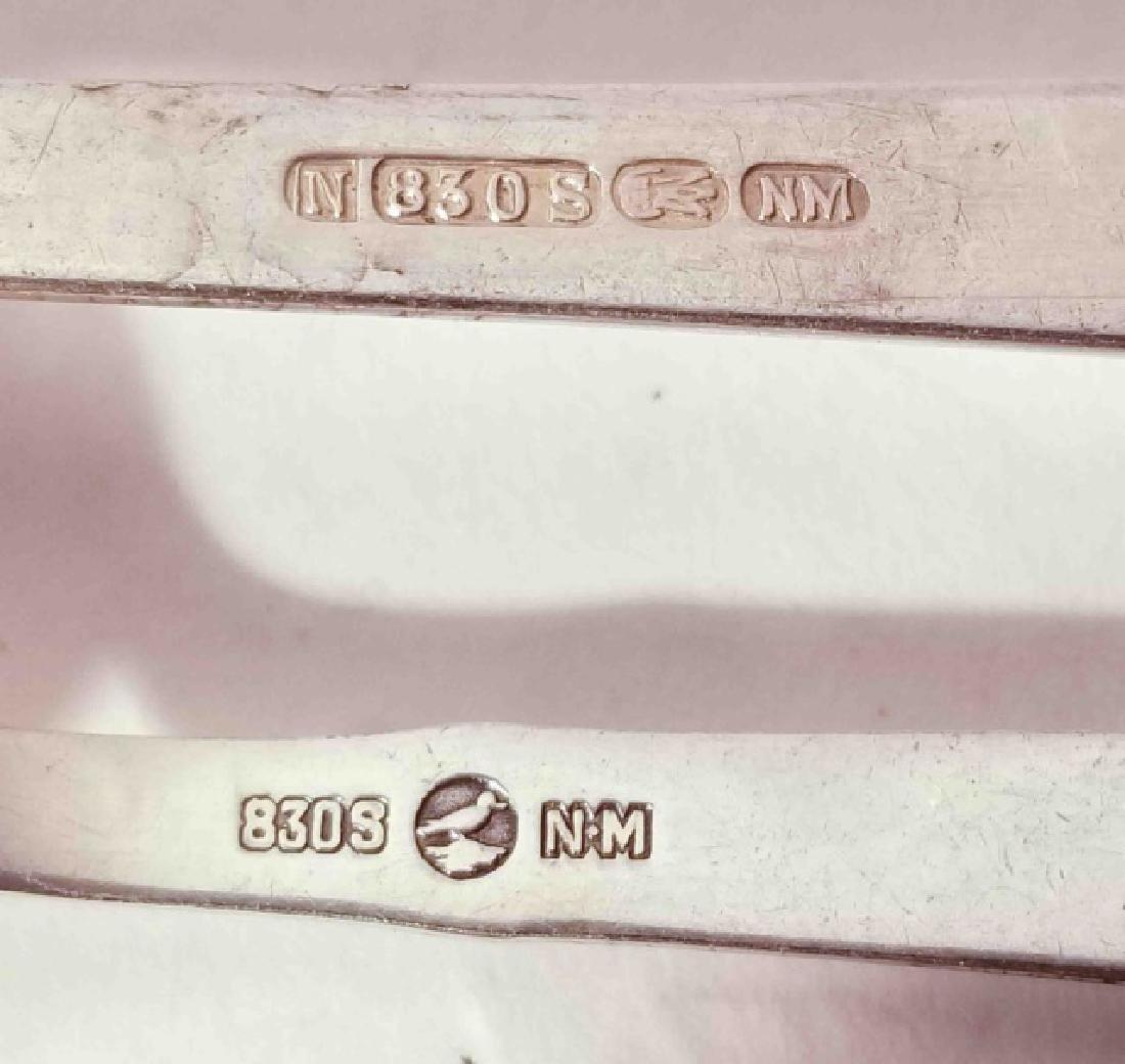 Lot of 4 Vintage Sterling Silver Sugar Spoons - 4