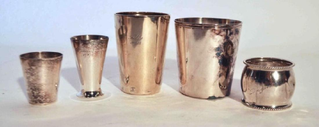 Assorted Selection of Sterling Silver Cups