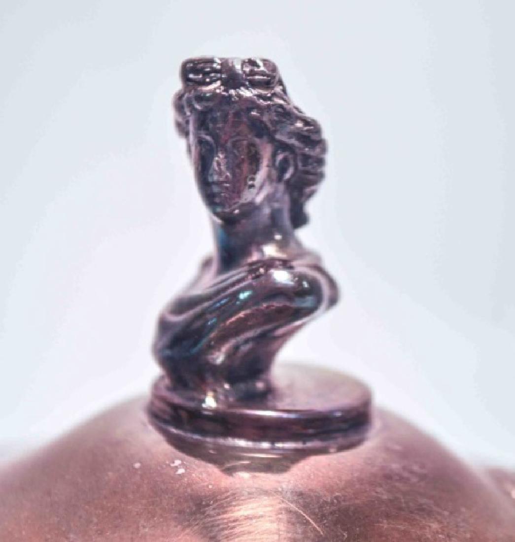 Redfield & Rice Figural Antique Silver Coffee Pot - 2