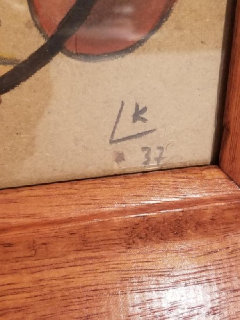 Original Signed Wassily Kandinsky Gouache on Paper - 2