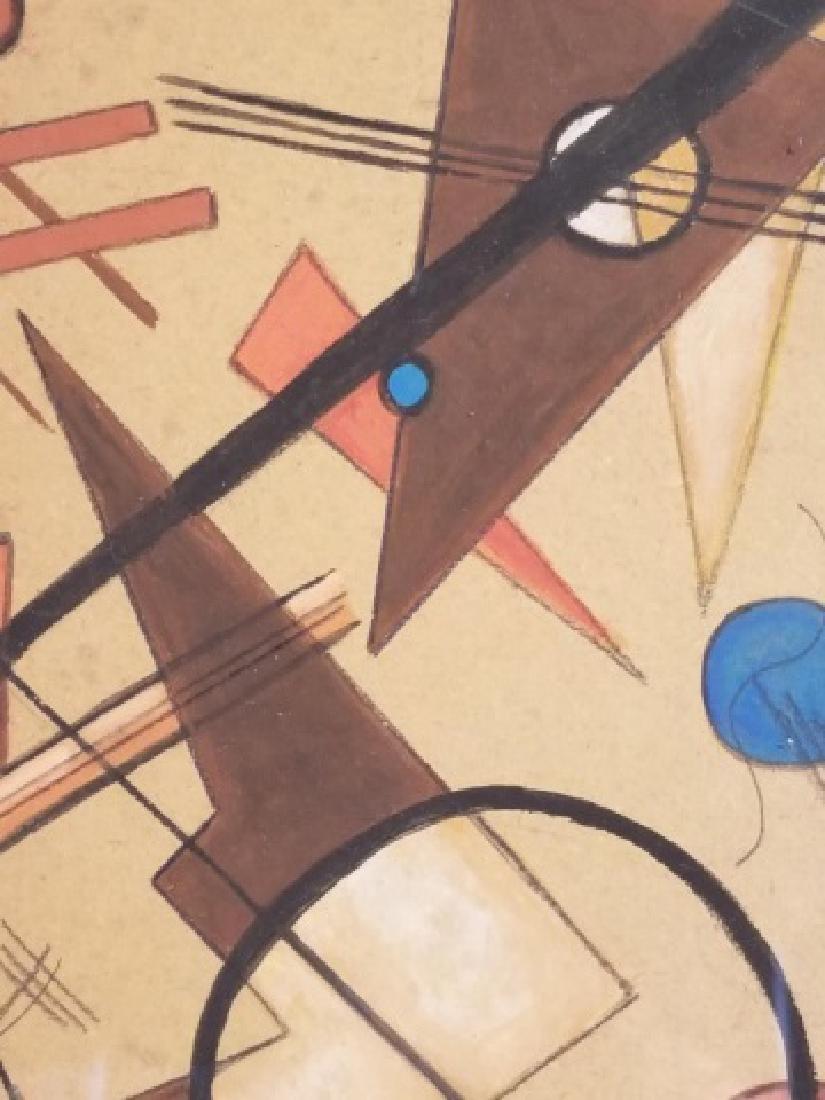 Original Signed Wassily Kandinsky Gouache on Paper - 3