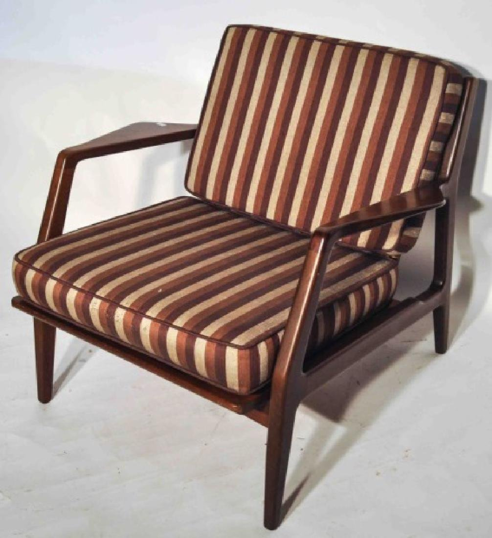 Image of: Rare Danish Mid Century Modern Selig Lounge Chair Oct 14 2017 Terri Peters Associates Auction And Estate Marketing In Ny