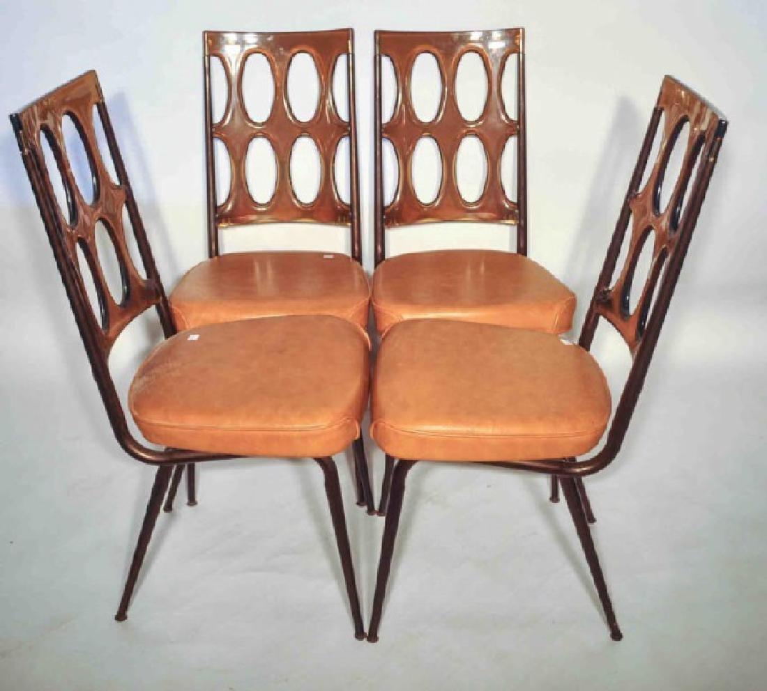 placeholder & Set of 4 - 1960u0027s Retro ChromCraft Dinette Chairs