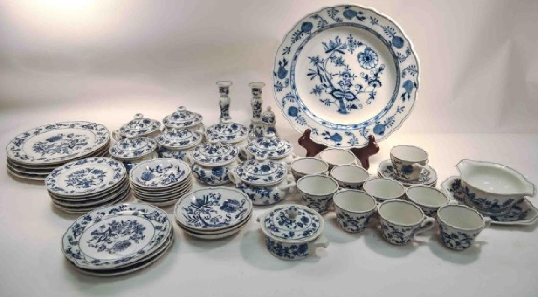 Blue Danube China Set Blue Onion & Vintage 50+pc. Blue Danube China Set Blue Onion