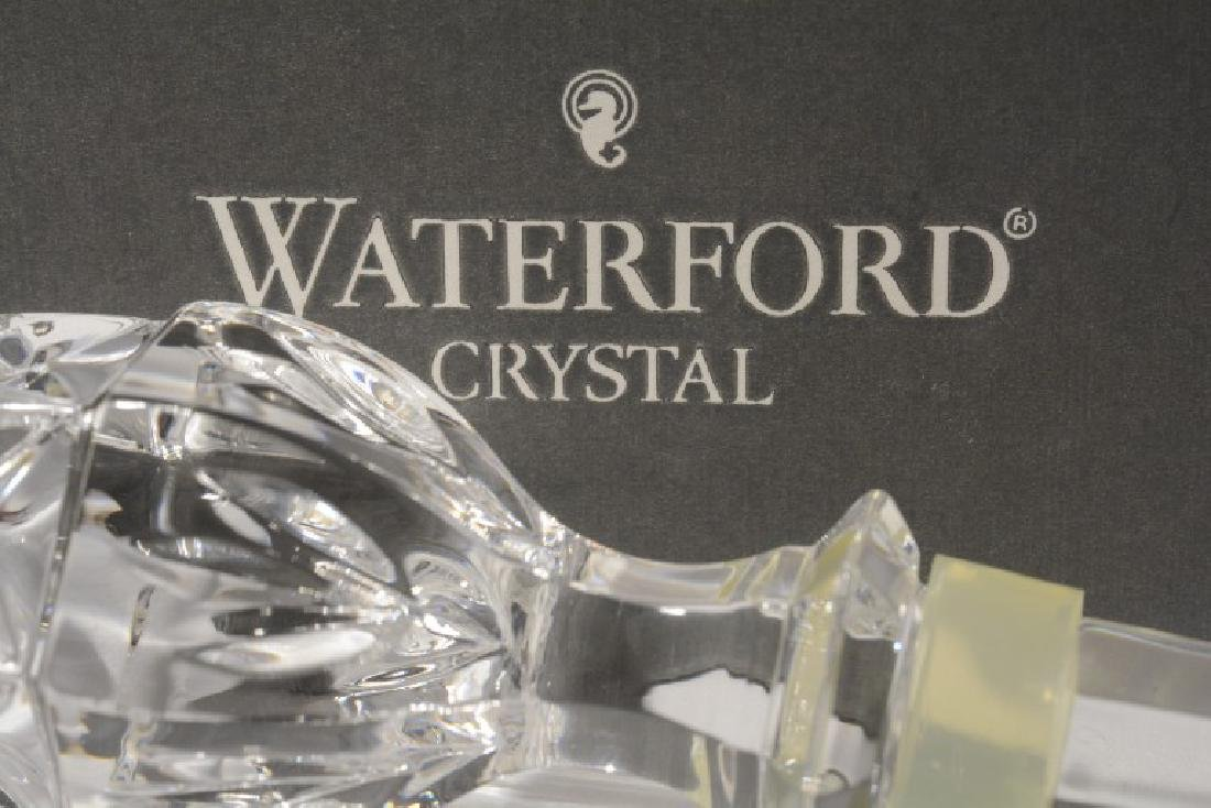 Waterford Irish Crystal Acorn Bottle Stopper