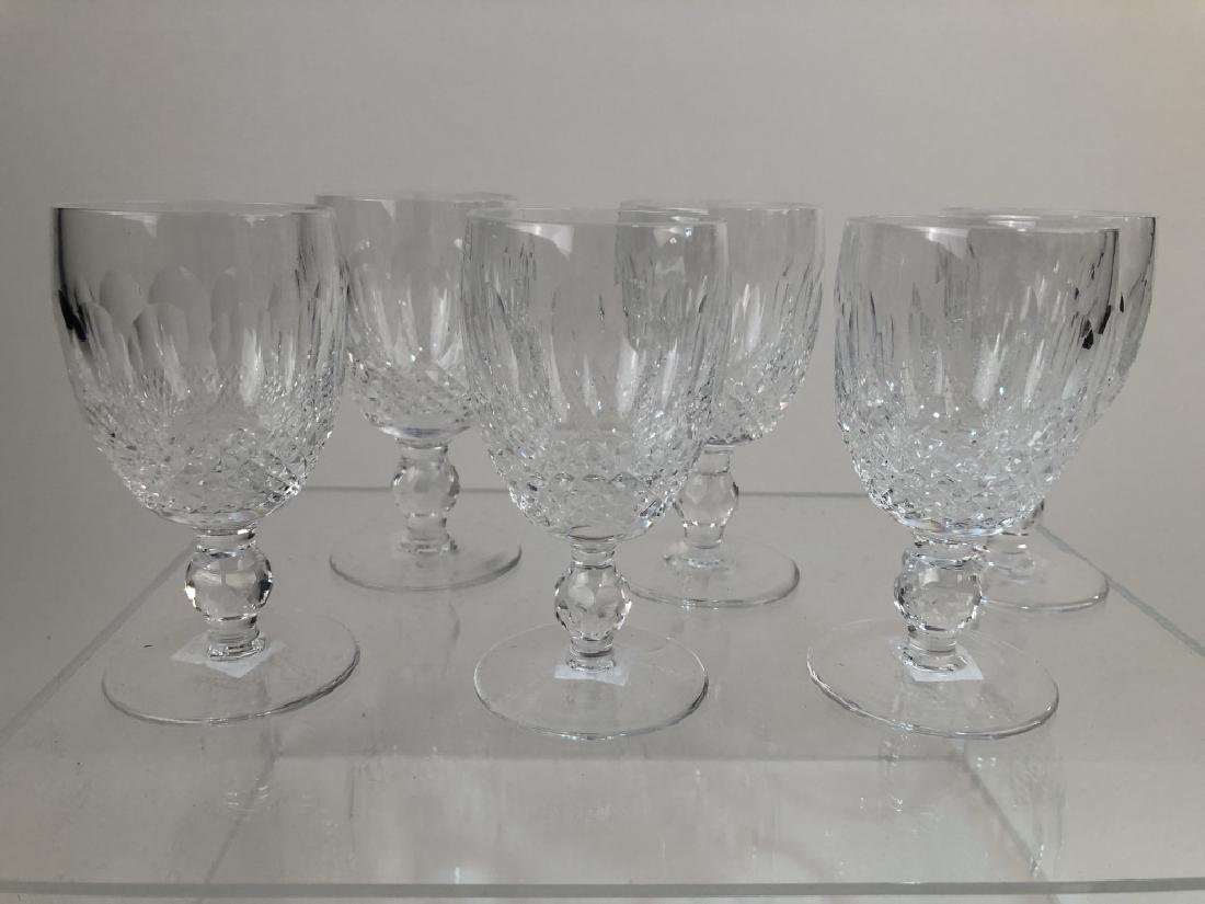 """Waterford Set of 6 White Wine Glasses """"Colleen"""""""