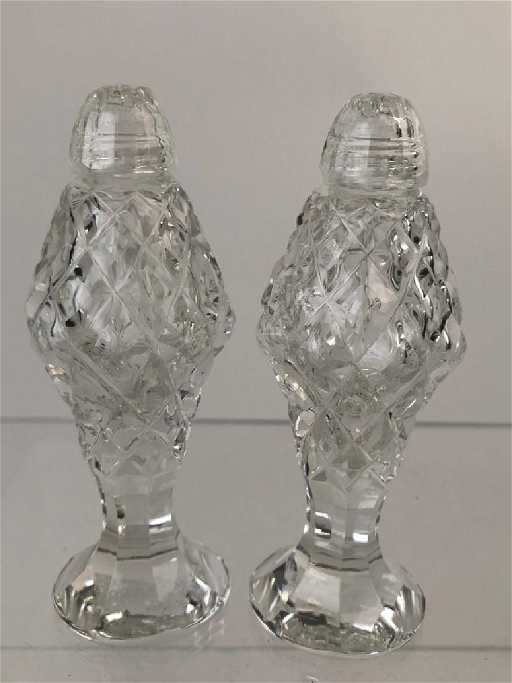 Waterford Crystal Salt Pepper Shakers