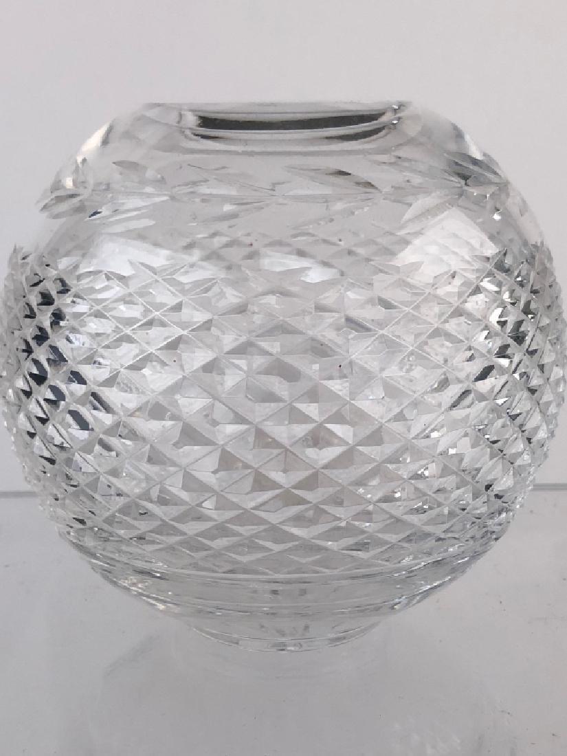 """Waterford Crystal Vintage """"Glandore"""" Rose Bowl"""
