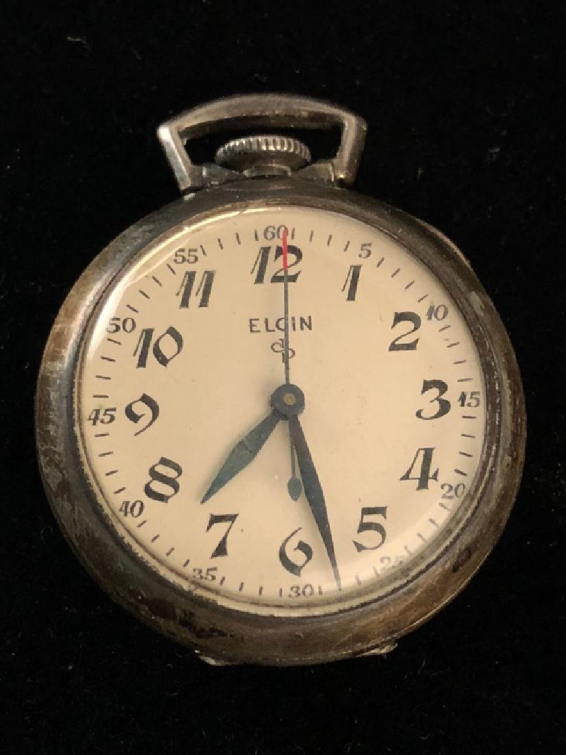 Ladies Elgin Sterling Pocket Watch