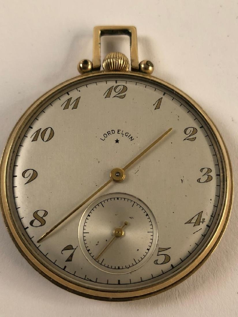 14k Gold Lord Elgin Pocket Watch