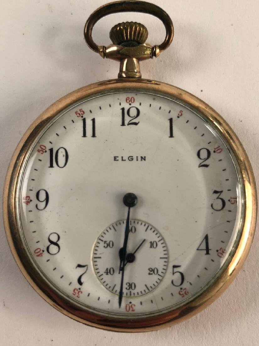 Vintage Elgin Pocket Watch w/ Monogram