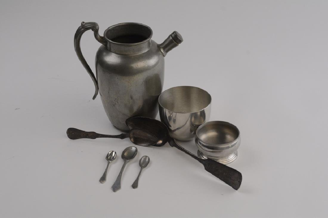 Lot of Stieff Pewter & Silver Items