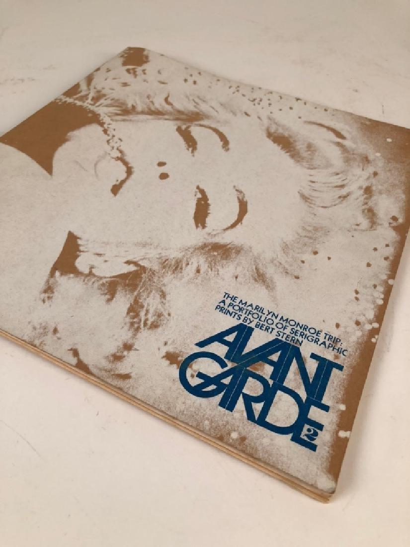 Coveted Avant Garde Magazine Marilyn Monroe Issue2