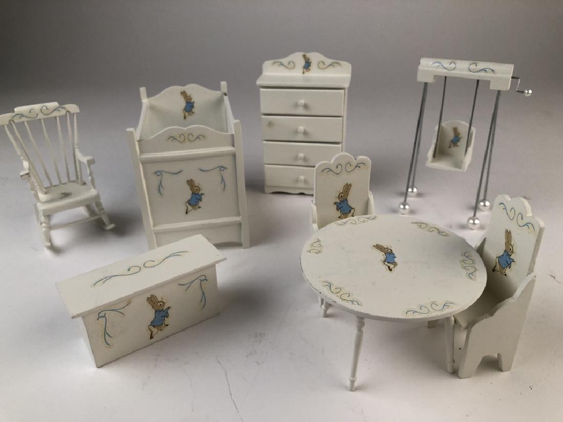 Beatrix Potter Peter Rabbit Miniature Nursery Set