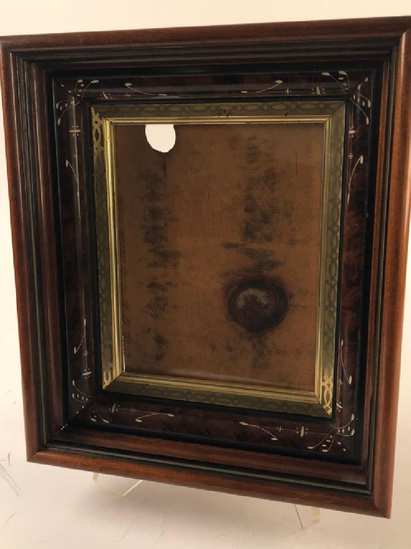 Antique Eastlake Victorian Walnut Picture Frame