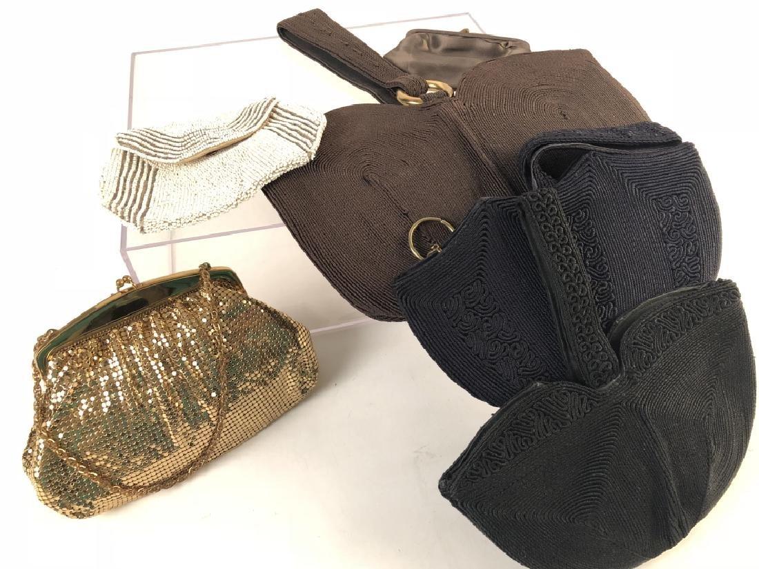 Lot of  5 Unique Vintage Hand Bags
