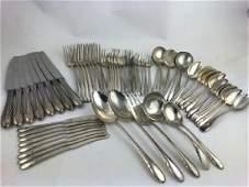 Sterling Silver Flatware Towle 8 pc. pl. set
