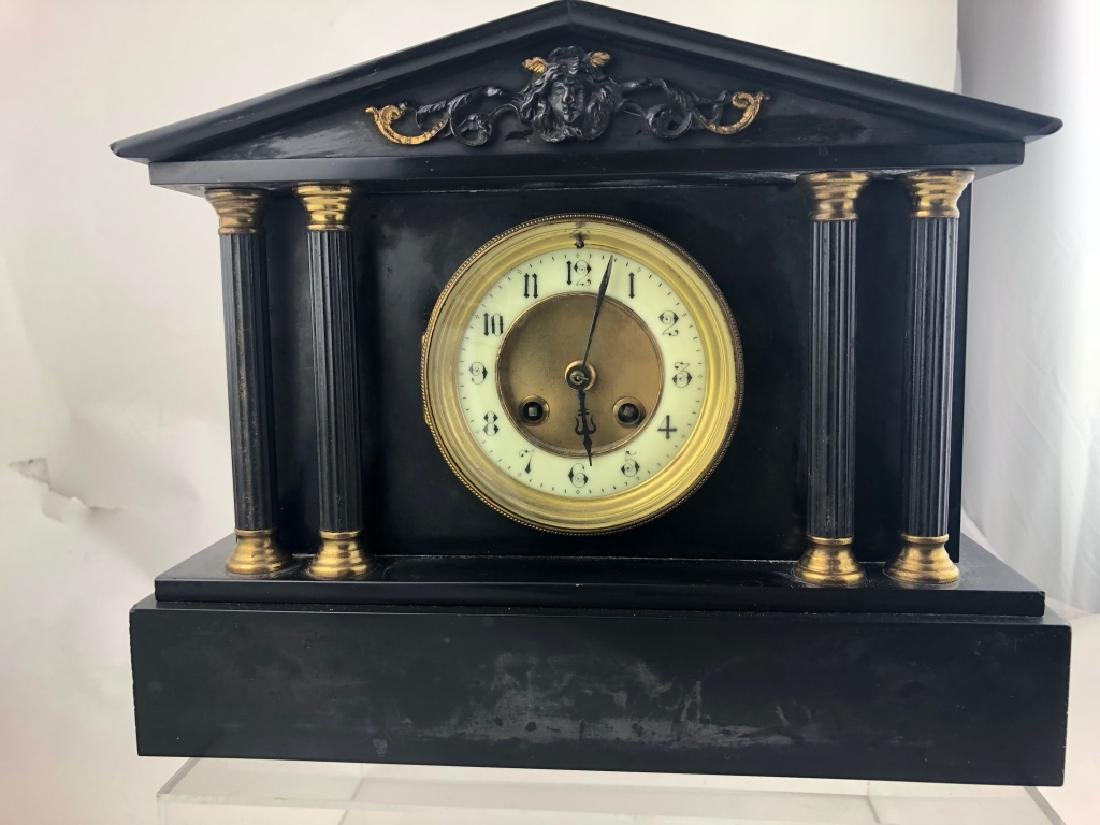 Antique victorian mantel clock