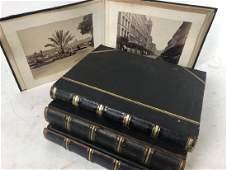Four 19th C. Photographic Travel Albums