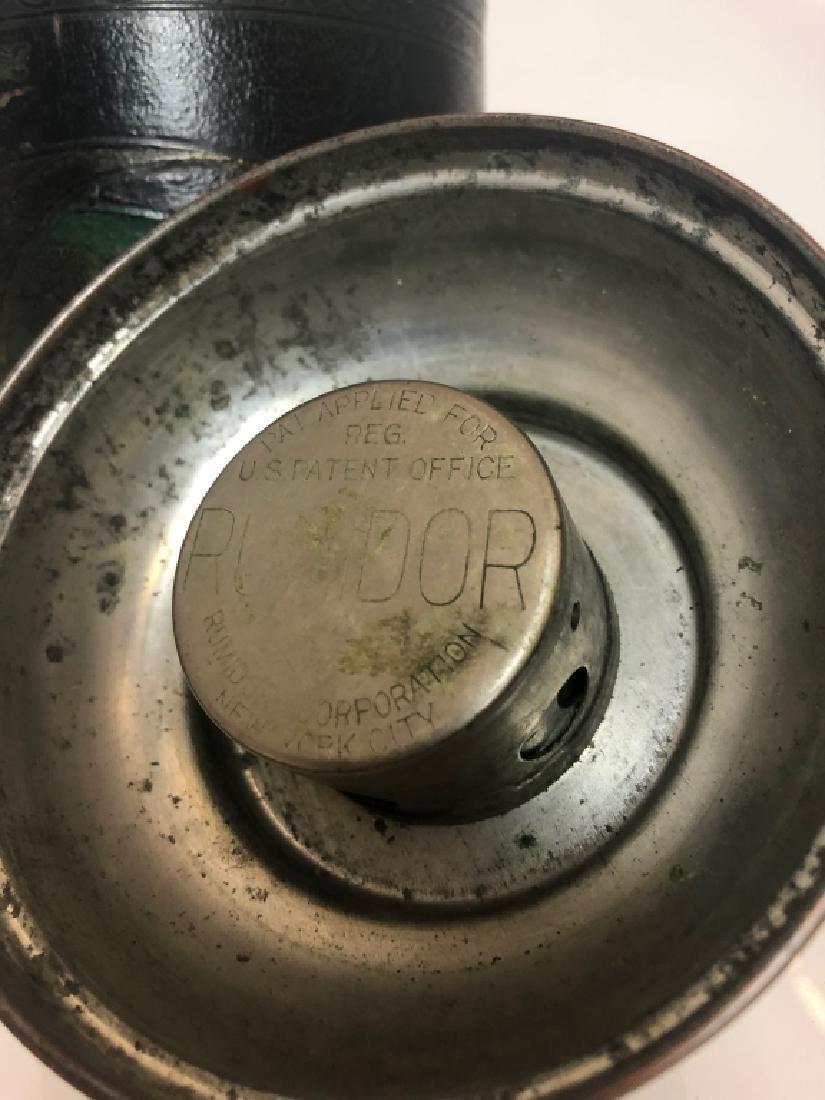 """1930's Vintage Copper Cigar Humidor  """"Rumidor Co."""" - 4"""