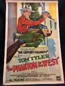 Original Movie Poster The Phantom of the West