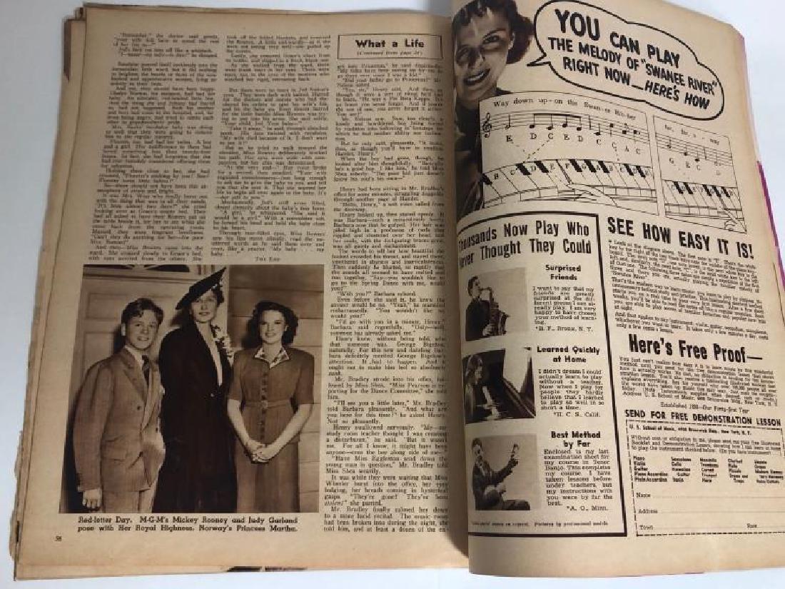 "Rare 1939 ""Screen Romances"" Oz Cover Magazine - 10"