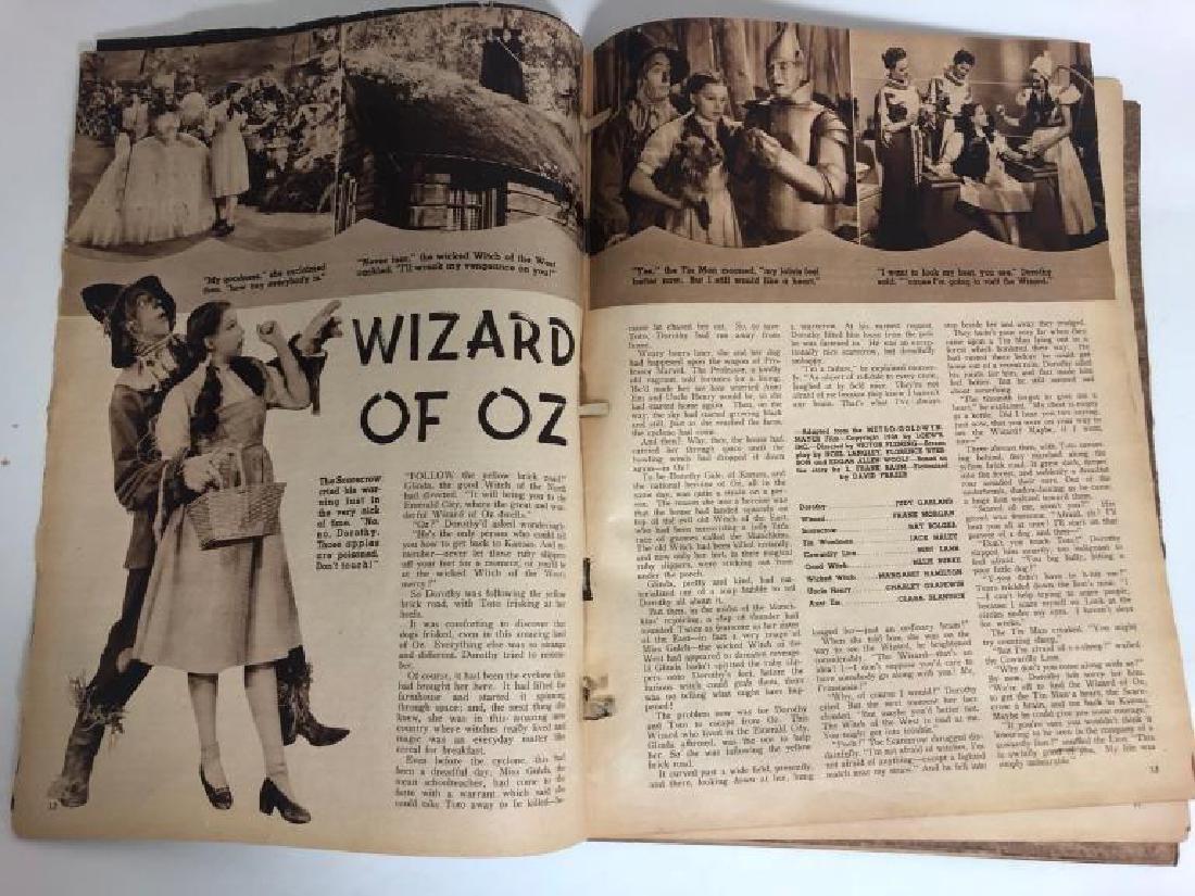 "Rare 1939 ""Screen Romances"" Oz Cover Magazine - 7"