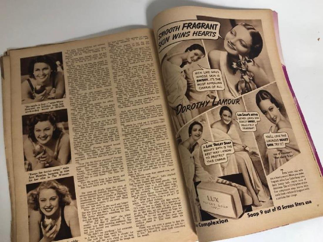 "Rare 1939 ""Screen Romances"" Oz Cover Magazine - 9"