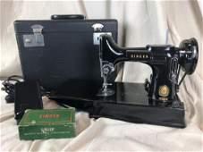 Antique 1951 Singer Portable Sewing Machine 3120