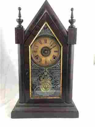 Steeple Clock 8 Day Time & Strike