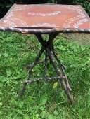 Adirondack Twig Tri-Legged Accent Table