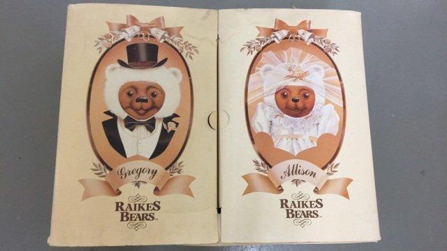 Raikes Bears Bride & Groom Set
