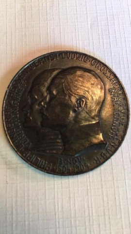 German 5 Mark Coin 1904