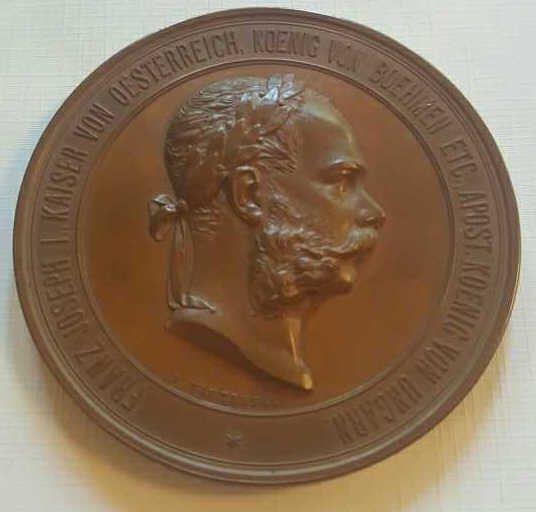 """Antique Bronze """"J. TAUTENHAYN"""" Plaquette"""