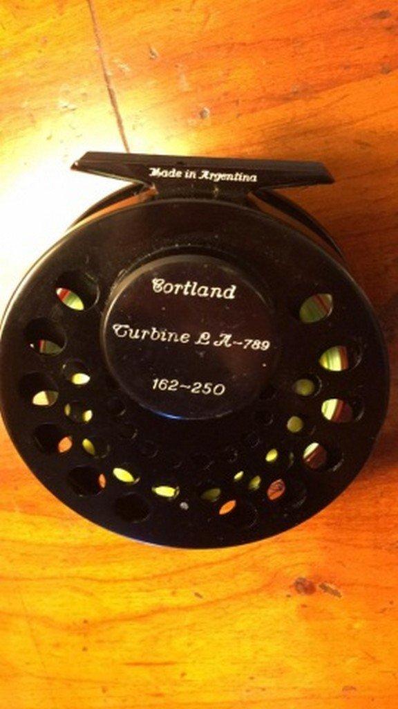 "Cortland Turbine Fly Reel 3 1/2"" Diameter - 3"